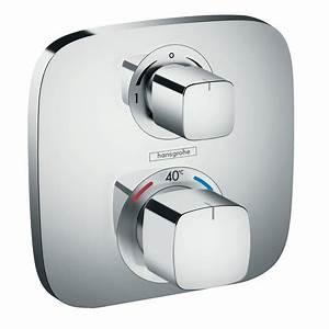 Unterputz Thermostat Dusche : ecostat e brausearmaturen 2 verbraucher chrom 15708000 ~ Frokenaadalensverden.com Haus und Dekorationen