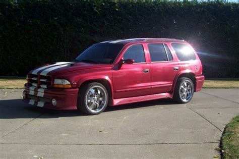 bagry  dodge durango specs  modification info
