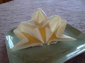 Pliage De Serviette En Etoile : comment r aliser le pliage de serviette en forme d 39 toile ~ Melissatoandfro.com Idées de Décoration