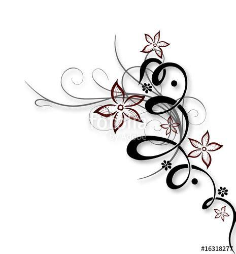 ranken bloemen quot blume ranke bl 252 ten filigran floral quot stock image and