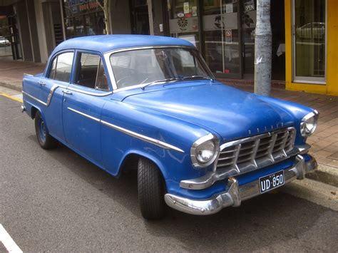 Aussie Old Parked Cars: 1959 Holden FC Special Sedan