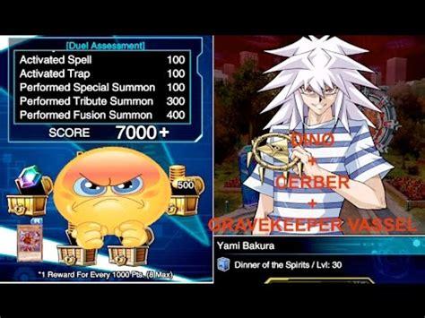 Yami Bakura Deck Duel Links by Lets Farm Yami Bakura Lvl 30 7000 Points Dino Deck Yu Gi