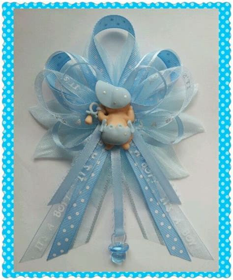 Baby Shower Pins For Corsages Blue It S A Boy Baby Shower Corsage