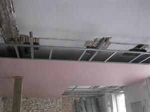 Fissure Au Plafond : realiser faux plafond cuisine boulogne billancourt prix ~ Premium-room.com Idées de Décoration
