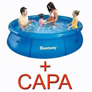 Bestway Ou Intex : piscina infl vel litros capa bestway intex ~ Melissatoandfro.com Idées de Décoration