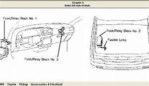 1989 Toyota 4wd Pickup  Tail Lights Don U0026 39  U0026 39 T Light  Backup Lights Ok  Turn Signal Lights Ok  Brake