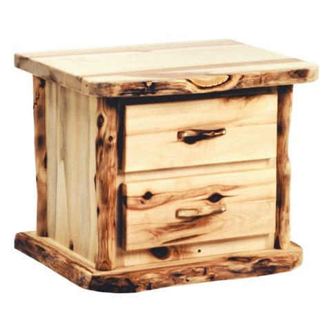 Two Drawer Nightstand by Heirloom Two Drawer Nightstand