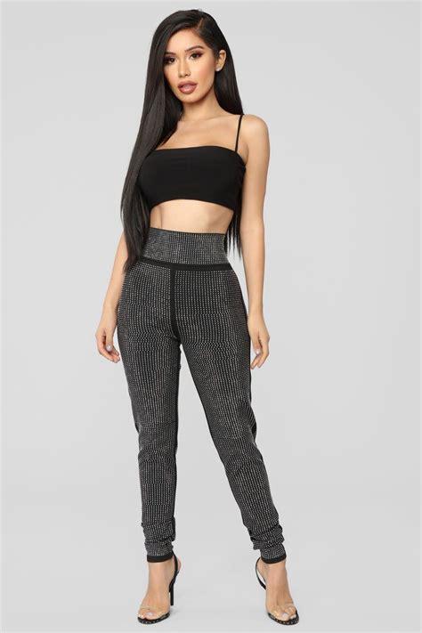 Shiny Shiny Shiny Pants - Black | Fashion nova outfits ...