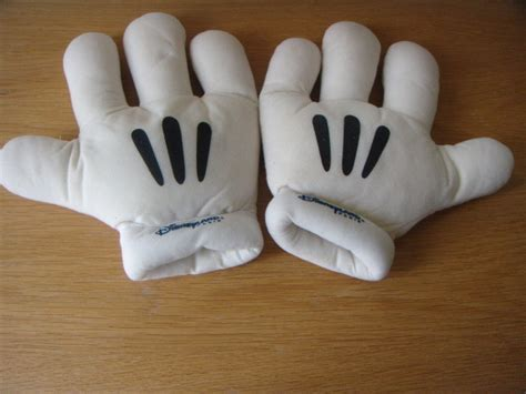 2 Mickey Mouse Gloves