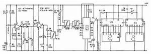 Counter Circuit Diagram Of The Digital Circuit Under