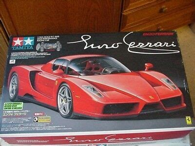 Rear diffuser and car underside are identical to the actual enzo. RARE!!! 58298 Tamiya Enzo Ferrari tb-01 new and more Rare Tamiya Cars | eBay