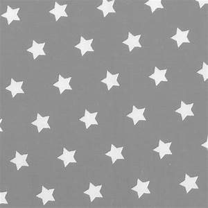 Tapete Sterne Grau : baumwollstoff grau mit wei en sternen ~ Eleganceandgraceweddings.com Haus und Dekorationen