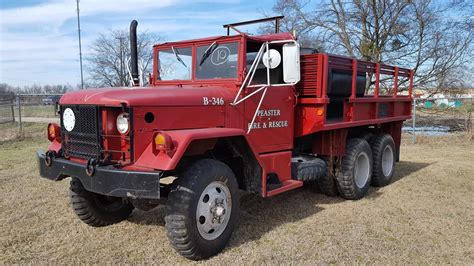 jeep fire truck for sale no175 m35a2 kaiser jeep