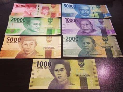 lokasi wisata populer  uang kertas  indonesia