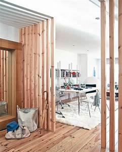 Ideen Für Trennwände : raumteiler pfirsig farbe bretter 42 kreative raumteiler ideen f r ihr zuhause apartment ~ Sanjose-hotels-ca.com Haus und Dekorationen