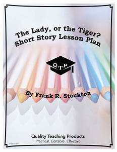 The Lady  Or The Tiger  Lesson  Worksheet And Key