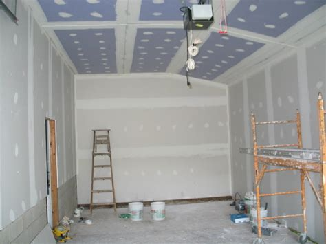 Garage Drywall Is Up  Braddock Bay Bird Observatory