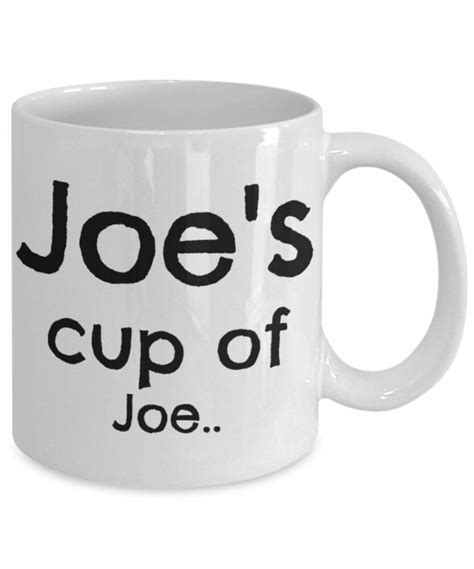 That's because it comes with two chambers: Joe's Cup Of Joe - 11oz Coffee Mug - Funny Gift For You 34656481708 | eBay