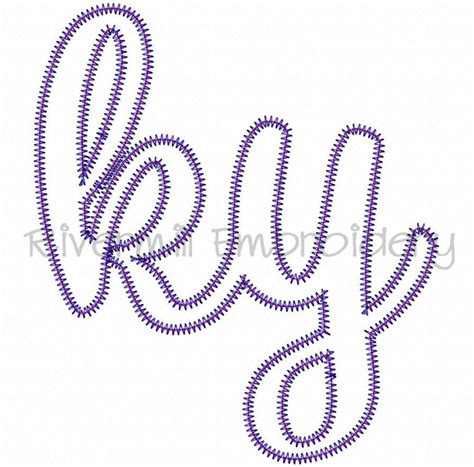 Applique Zig Zag by Zig Zag Applique Kentucky Quot Ky Quot Machine Embroidery Design