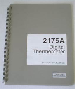 Manual Digital Thermometer