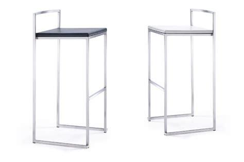 tabouret design koodoo tabouret de bar avec dossier mobilier d int 233 rieur pas cher
