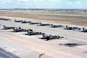 A Flight line full of F-111D's 522nd Fighter Squadron ...