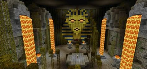 tomb crafter  sphinx adventure map  mcpe