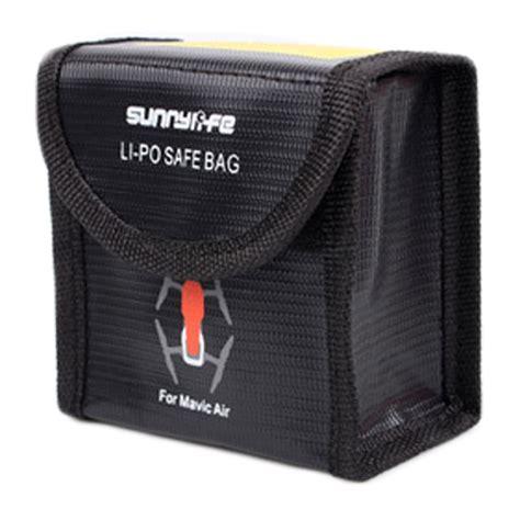 dji mavic air dual lipo safety battery bag
