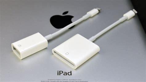 apple ipad lightning  usb camera adapter sd card