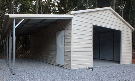 lean to carport lean to metal carports steel buildings