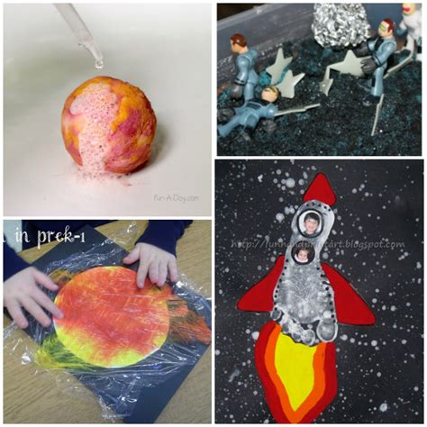 20 outer space crafts for i arts n crafts 420 | 20 Easy Outerspace Kids Crafts And Experiments
