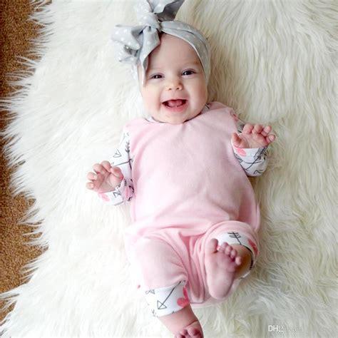 ins newborn baby girl long sleeve cotton romper