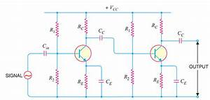 Transistor Amplifier Working Theory Rc Coupled Amplifier