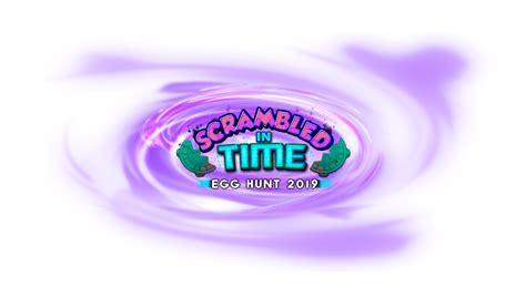 egg hunt  scrambled  time roblox wikia fandom