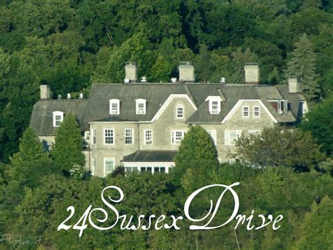 sussex drive official residence   prime minister