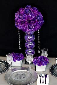 Best 25 ideas about diy wedding centerpieces find what youll love diy purple wedding centerpieces junglespirit Image collections