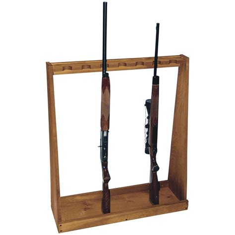 Rifle Racks by Sports 174 Standing Rifle Rack 206939 Gun Cabinets