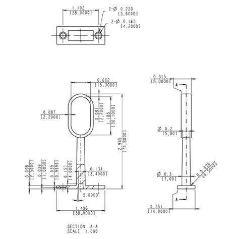 hardware resources shop m7190 sn closet rod mounting