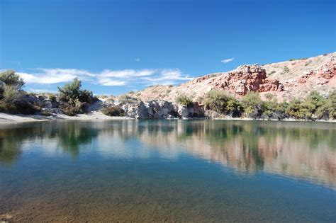 Roswell, Bottomless Lakes, New Mexico