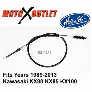 New Kawasaki Kx 85 80 100 Clutch Cable Kx80 Kx85 Kx100 Motion Pro