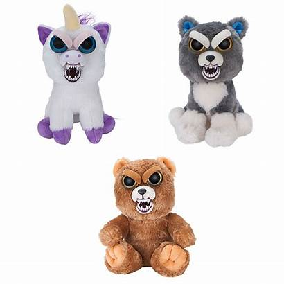 Feisty Pets Toy Soft Colours Various Master