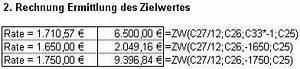 Monatliche Rate Berechnen Formel : excel tipp berechnung von kapitalwerten und weitere barwertfunktionen ~ Themetempest.com Abrechnung