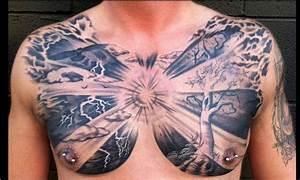 Sun Chest Tattoos Designs - Tattoo Ideas Pictures | Tattoo ...