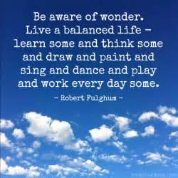 Balanced Life Quote