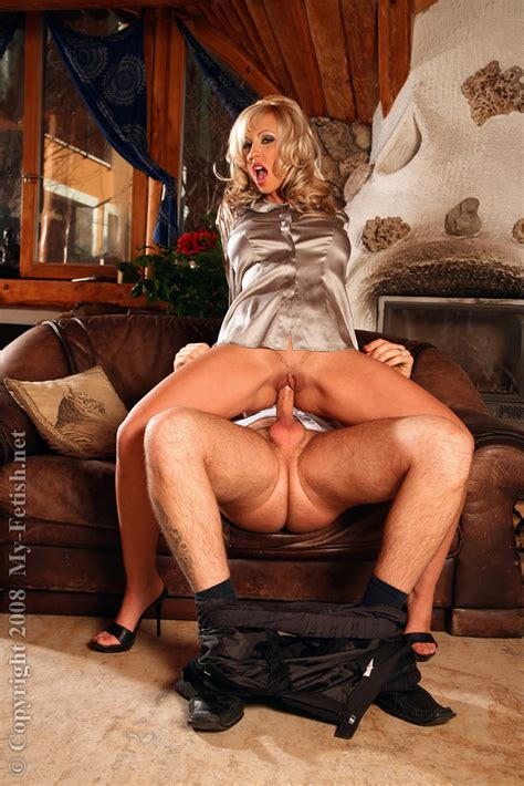 Fetish Blonde Milf Enjoys Passionate Partly Clothed Sex