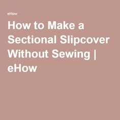 1000 ideas about sectional slipcover on