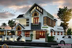 Super Cute Modern House Plan Kerala Home Design And