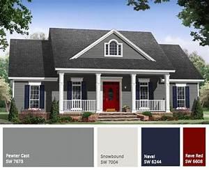 Home, Exterior, Paint, Color, Schemes, 1000, Ideas, About