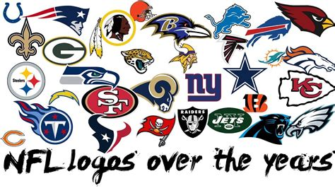 Nfl All Logos Over The Years 🏈