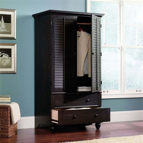 Black Armoires Wardrobe Clothing Wardrobes Armoires How To Remove How To Get The